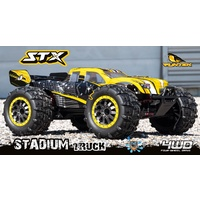 FUNTEK 1/12th Scale 4WD 540 Brushed High Speed Monster Truck - FTK-STX