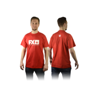 FX T-SHIRT RED XL - FX695010XL