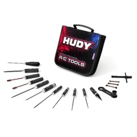 HUDY SET OF TOOLS AND CARRYING BAG - FOR 1/8 OFFROAD - HD190003