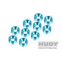 HUDY ALU COUNTERSUNK SHIM - BLUE 1 - HD296510-B
