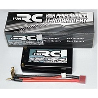 iM RC 6000MAH 100C 7.6V 2S SHORTY HARDCASE LIPO BATTERY - IM202