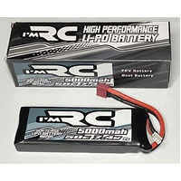 iM RC 5000MAH 50C 7.4V 2S SOFTCASE LIPO BATTERY - IM205