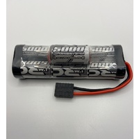 iM RC 5000MAH SUB-C SIZE CELL 8.4V HUMP BATTERY PACK SUIT R/C CARS & BOATS WITH TRAXXAS PLUG- IM286