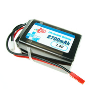 INTELLECT LIPO - 2700MAH RECEIVER PACK - INTL2700-2S-W1