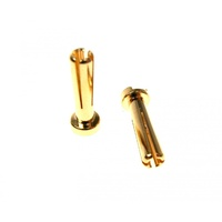 INTELLECT 5MM BULLET BATTERY CONNECTOR 2PCS - INTLHC3-5MM