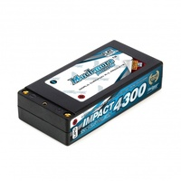 IMPACT LCG MAX PUNCH LI-PO BATTERY 4300AH/7.4V 120C SHORTY - MR-MLI-STLCG4300MP