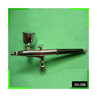 GRAVITY FEED DOUBLE ACTION AIRBRUSH - NHDU-32