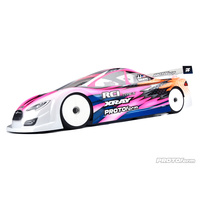 PROTOFORM TYPE-S 190MM LIGHT WEIGHT CLEAR TOURING CAR BODY - PR1560-25
