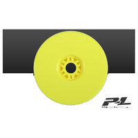 PROLINE VELOCITY V2 YELLOW FRONT OR REAR 1-8TH BUGGY WHEELS 4PCS - PR2702-02