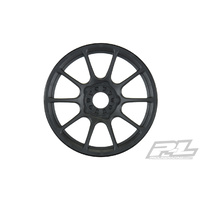PROLINE MACH 10 BLACK FRONT OR REAR WHEELS (4) FOR 1:8 BUGGY - PR2784-03