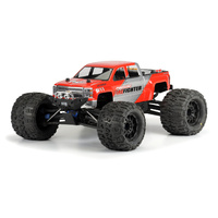PROLINE 2014 CHEVY SILVERADO CLEAR BODY SUIT 1-8TH MONSTER TRUCK - PR3430-00