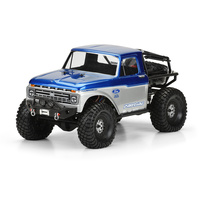 PROLINE 1966 FORD F-100 CLEAR BODY FOR SCX10 TRAIL HONCHO 313MM - PR3464-00