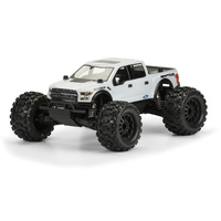 PROLINE 2017 FORD F-150 RAPTOR CLEAR BODY FOR 1-10TH MT - PR3471-00