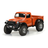 1946 DODGE POWER WAGON CLEAR BODY FOR (313MM) CRAWLERS - PR3499-00
