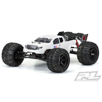 PRE-CUT BRUTE BASH ARMOR (WHITE) BODY FOR ARRMA KRATON - PR3521-15