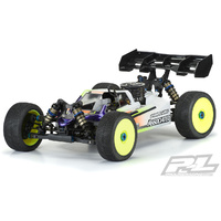 PROLINE Axis Clear Body For Ae Rc8B3.2 & Ae Rc8B3.2E (With Lcg Battery) - Pr3554-00