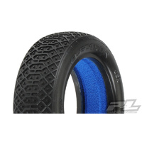 "PROLINE ELECTRON 2.2"" 2WD S3 (SOFT) OFF-ROAD BUGGY FRONT TIRES (2) (WITH CLOSED CELL FOAM) - PR8239-203"