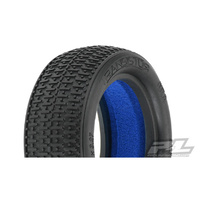 PROLINE TRANSISTOR 2.2IN 4WD MC FRONT TYRES 2PCS - PR8254-17