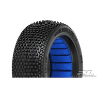 BLOCKADE S4 (SUPER SOFT) OFF-ROAD 1:8 BUGGY TIRES (2) FOR FRONT OR REAR - PR9039-204