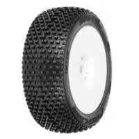 PROLINE BOW-TIE 2.0 X4 SUPER SOFT OFF-ROAD 18 BUGGY TIRES MOUNTED - PR9045-034
