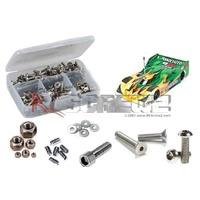 ASTAINLESS STEEL 12R5.2 1/12TH STAINLESS STEEL SCREW KIT - RCASS062