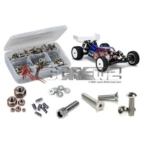 LOSI 22 3.0 2WD STAINLESS STEEL SCREW KIT - RCLOS084
