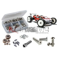 MUGEN MBX-7T STAINLESS STEEL SCREW KIT - RCMUG027