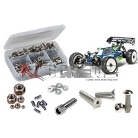 MUGEN MBX-7R ECO STAINLESS STEEL SCREW KIT - RCMUG031