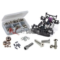 MUGEN MGT7 STAINLESTAINLESS STEEL SCREW KIT - RCMUG032