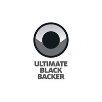 SPAZSTIX ULTIMATE BLACK BACKER FOR CHROME! AIRBRUSH PAINT 2OZ - SZX10200