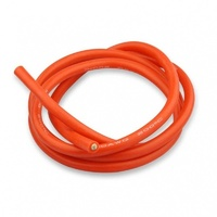 SILICONE WIRE RED 10AWG 1 METRE LENGTH - VSKT-1307-10