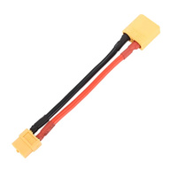 XT60 Female to XT90 Male Converter with 14AWG Wire 5cm Silicone Wire - VSKT-80711B