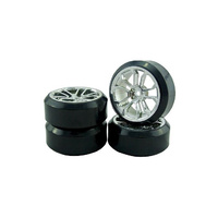 1/10 DRIFT 10-SPOKE TIRE SET - VSKT636028S