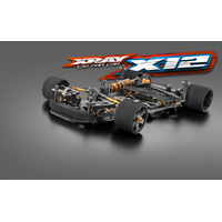 XRAY X12 - 2019 EU SPECS - 1/12 PAN CAR KIT - XY370008