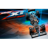 XRAY X1 - 2019 SPECS- LUXURY 1/10 FORMULA 1 CAR KIT - XY370704